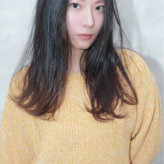 ロング 大人女子 コンサバ 黒髪 ヘアスタイルや髪型の写真・画像 ヘアスタイルや髪型の写真・画像
