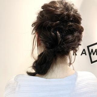 大人可愛い アップスタイル ヘアアレンジ ミディアム ヘアスタイルや髪型の写真・画像