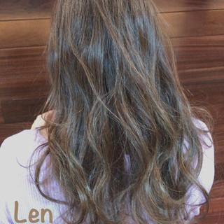 春スタイル ロング デート 大人可愛い ヘアスタイルや髪型の写真・画像