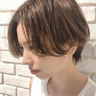 ショート エレガント ショートヘア ヘアスタイルや髪型の写真・画像