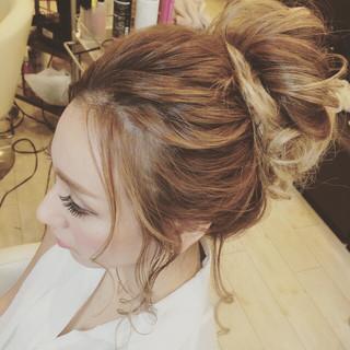 簡単ヘアアレンジ ヘアアレンジ ルーズ ショート ヘアスタイルや髪型の写真・画像