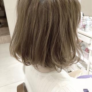 リラックス フリンジバング 女子会 ボブ ヘアスタイルや髪型の写真・画像