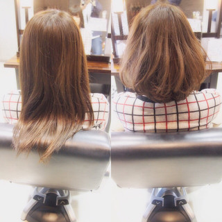 ゆるふわ ヘアアレンジ ミディアム ブラウン ヘアスタイルや髪型の写真・画像