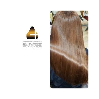美髪 ナチュラル 髪の病院 頭皮ケア ヘアスタイルや髪型の写真・画像