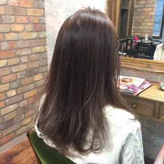 アッシュ 外国人風 ローズ ラベンダーアッシュ ヘアスタイルや髪型の写真・画像 ヘアスタイルや髪型の写真・画像