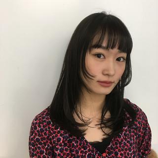 中村楓さんのヘアスナップ
