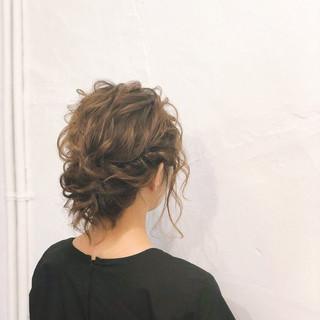 ショートヘア ショート シニヨン ヘアアレンジ ヘアスタイルや髪型の写真・画像