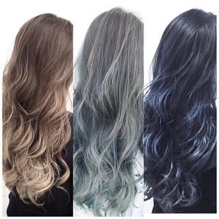 外国人風カラー ブルージュ ロング アッシュ ヘアスタイルや髪型の写真・画像 ヘアスタイルや髪型の写真・画像
