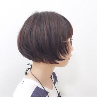 爽やか 刈り上げ ボブ 暗髪 ヘアスタイルや髪型の写真・画像