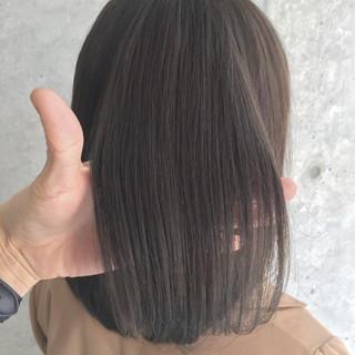 フェミニン ニュアンス 大人かわいい アッシュ ヘアスタイルや髪型の写真・画像