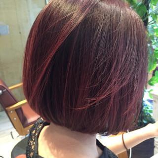 アッシュ 抜け感 ピンク パープル ヘアスタイルや髪型の写真・画像 ヘアスタイルや髪型の写真・画像