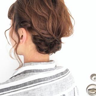 ボブ ショート 結婚式 ヘアアレンジ ヘアスタイルや髪型の写真・画像 ヘアスタイルや髪型の写真・画像