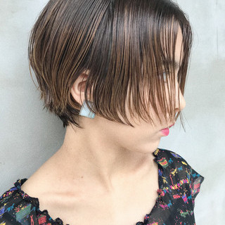 ガーリー 抜け感 ストレート 透明感 ヘアスタイルや髪型の写真・画像