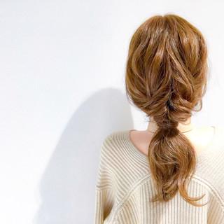 ヘアアレンジ ショート デート フェミニン ヘアスタイルや髪型の写真・画像