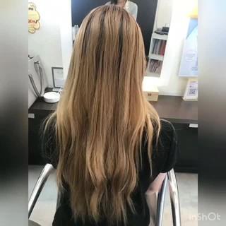 抜け感 モード 外国人風カラー ロング ヘアスタイルや髪型の写真・画像