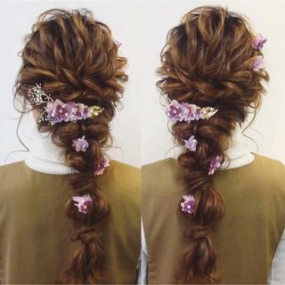 結婚式 パーティ ヘアアレンジ 大人女子 ヘアスタイルや髪型の写真・画像