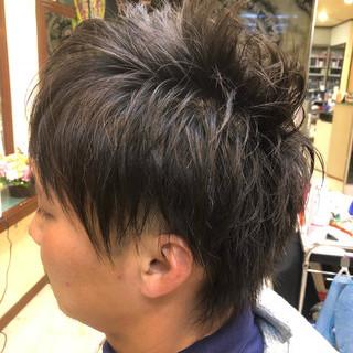 坊主 メンズ ボーイッシュ ストリート ヘアスタイルや髪型の写真・画像