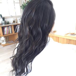 渋谷系 ロング 外国人風 ガーリー ヘアスタイルや髪型の写真・画像