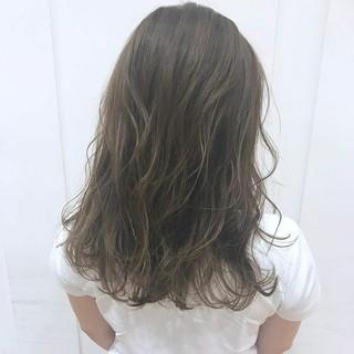 透明感カラー 透明感 外国人風カラー グレージュ ヘアスタイルや髪型の写真・画像