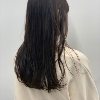 外国人風 透明感 ロング ナチュラル ヘアスタイルや髪型の写真・画像