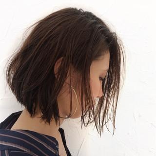 色気 ストリート ショート 耳かけ ヘアスタイルや髪型の写真・画像 ヘアスタイルや髪型の写真・画像