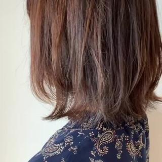 透明感カラー ボブ ヘアカラー 簡単スタイリング ヘアスタイルや髪型の写真・画像