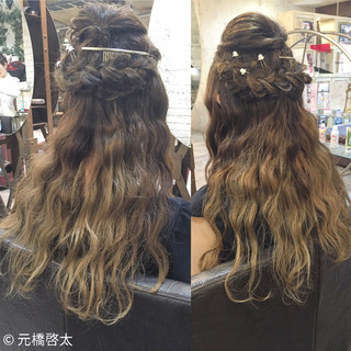 外国人風 コンサバ 渋谷系 ヘアアレンジ ヘアスタイルや髪型の写真・画像