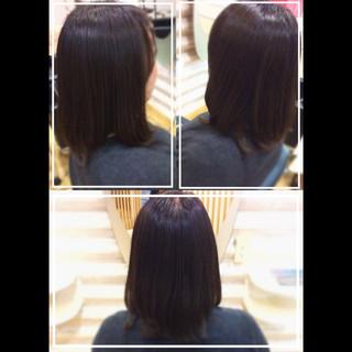 髪質改善カラー 社会人の味方 髪質改善 ナチュラル ヘアスタイルや髪型の写真・画像
