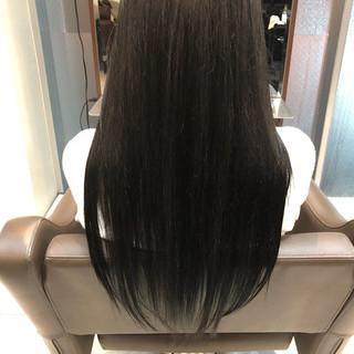 ロング 冬 デート 艶髪 ヘアスタイルや髪型の写真・画像 ヘアスタイルや髪型の写真・画像