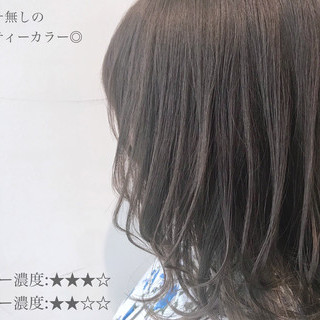 ミルクティーベージュ アンニュイほつれヘア ミルクティーブラウン ミルクティーアッシュ ヘアスタイルや髪型の写真・画像