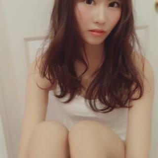 春 モテ髪 コンサバ セミロング ヘアスタイルや髪型の写真・画像