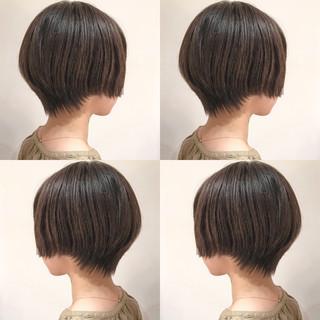 ナチュラル バーム 大人かわいい ショートボブ ヘアスタイルや髪型の写真・画像 ヘアスタイルや髪型の写真・画像