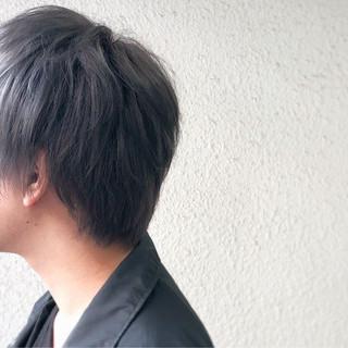モード モテ髪 グレー ブリーチ ヘアスタイルや髪型の写真・画像
