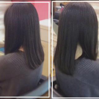 髪質改善カラー ナチュラル 艶髪 社会人の味方 ヘアスタイルや髪型の写真・画像