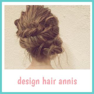 ロング フェミニン 大人かわいい ヘアアレンジ ヘアスタイルや髪型の写真・画像
