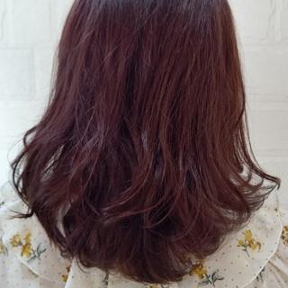 ナチュラル ツヤ髪 ミディアム 秋 ヘアスタイルや髪型の写真・画像