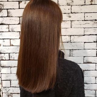 個性的 切りっぱなし 大人女子 クールロング ヘアスタイルや髪型の写真・画像 ヘアスタイルや髪型の写真・画像