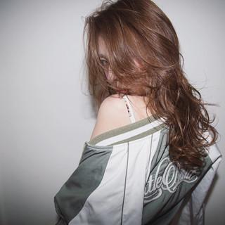 セミロング 外国人風 グラデーションカラー かっこいい ヘアスタイルや髪型の写真・画像
