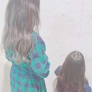 大人ロング ロング ロングヘア グラデーションカラー ヘアスタイルや髪型の写真・画像