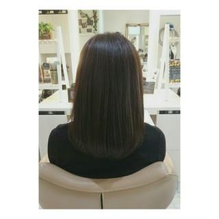 色気 イルミナカラー ナチュラル ボブ ヘアスタイルや髪型の写真・画像