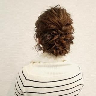 成人式 フェミニン ミディアム アップスタイル ヘアスタイルや髪型の写真・画像 ヘアスタイルや髪型の写真・画像