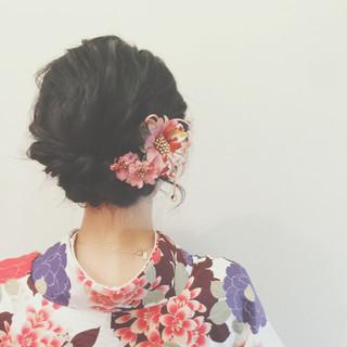 簡単ヘアアレンジ ヘアアレンジ 大人かわいい 謝恩会 ヘアスタイルや髪型の写真・画像