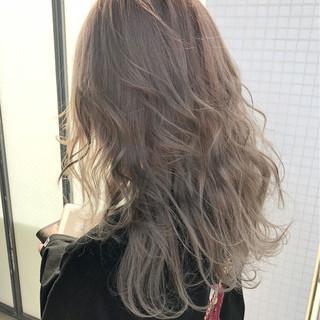アンニュイ ゆるふわ ヘアアレンジ セミロング ヘアスタイルや髪型の写真・画像