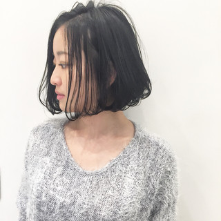 ストリート 暗髪 アッシュ 外国人風 ヘアスタイルや髪型の写真・画像