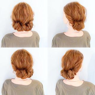ロング デート エレガント ヘアアレンジ ヘアスタイルや髪型の写真・画像