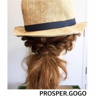 ゆるふわ セルフヘアアレンジ 大人かわいい ナチュラル ヘアスタイルや髪型の写真・画像