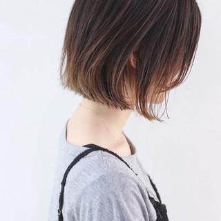デート ボブ ストリート アウトドア ヘアスタイルや髪型の写真・画像 ヘアスタイルや髪型の写真・画像