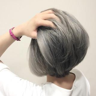ハイトーン グラデーションカラー ガーリー 外国人風 ヘアスタイルや髪型の写真・画像
