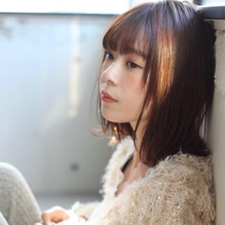 アンニュイほつれヘア デジタルパーマ ナチュラル 大人かわいい ヘアスタイルや髪型の写真・画像