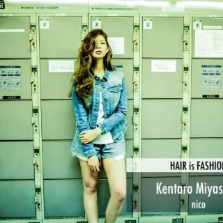 春 ストリート パンク ロング ヘアスタイルや髪型の写真・画像